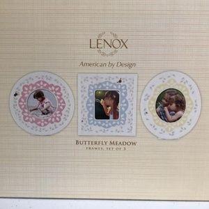 Lenox Butterfly Meadow Picture Frames.